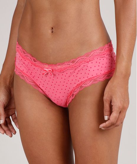 Calcinha-Calecon-Estampada-Poa-com-Renda-Pink-9576988-Pink_1