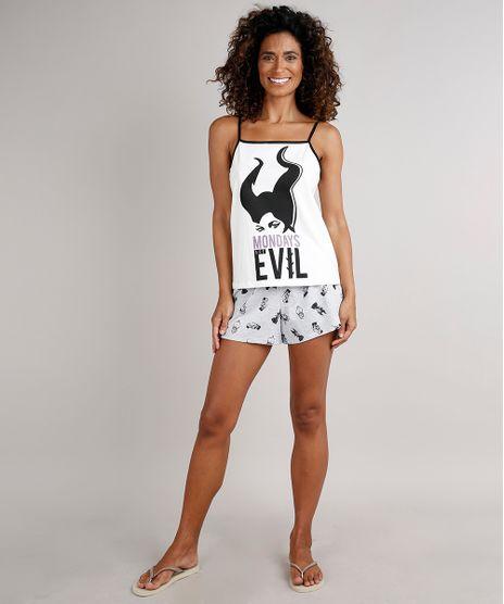 Pijama-Feminino-Malevola--Mondays-are-evil--Alcas-Finas-Off-White-9700498-Off_White_1