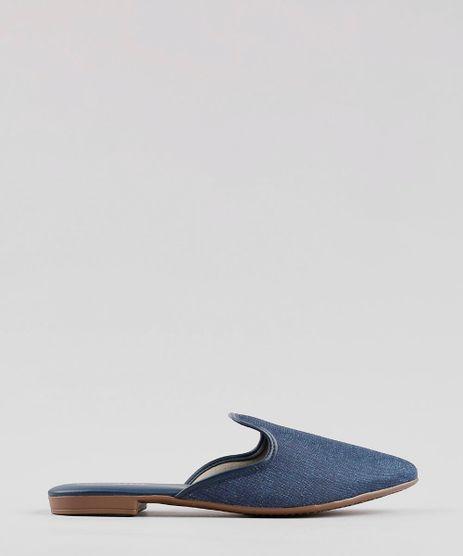 Mule-Jeans-Feminino-Beira-Rio-Bico-Fino-Azul-Escuro-9802991-Azul_Escuro_1