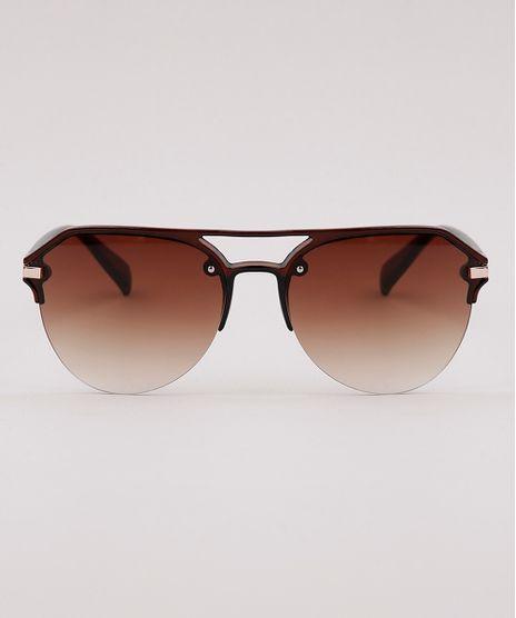 Oculos-de-Sol-Redondo-Masculino-Ace-Marrom-9792889-Marrom_1