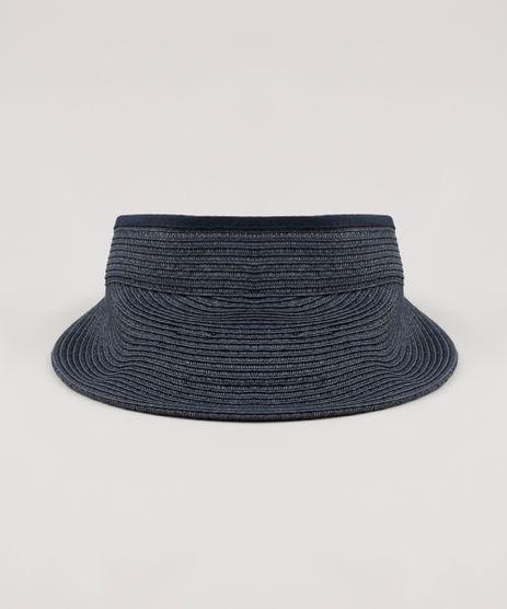 Viseira-de-Praia-Feminina-Dobravel-Azul-Marinho-9243518-Azul_Marinho_1