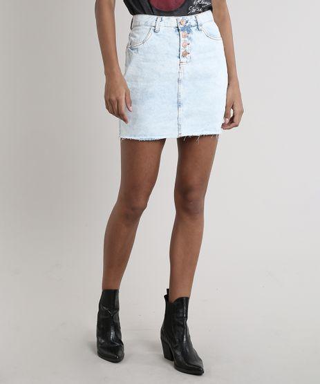 Saia-Jeans-Feminina-Curta-com-Bolsos-Azul-Claro-9753726-Azul_Claro_1