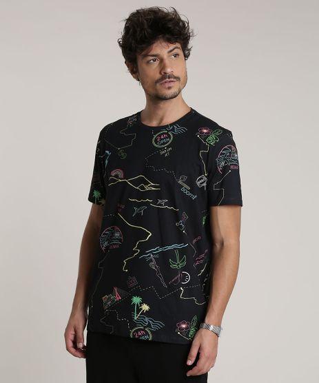Camiseta-Masculina-Estampada-Rio-de-Janeiro-Expressoes-Manga-Curta-Gola-Careca-Preta-9787749-Preto_1