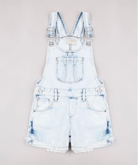 Jardineira-Jeans-Infantil-com-Bolsos-Azul-Claro-9748594-Azul_Claro_1
