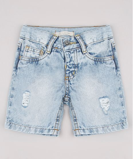 Bermuda-Jeans-Infantil-com-Rasgos-Azul-Claro-9760444-Azul_Claro_1