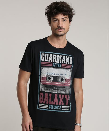 Camiseta-Masculina-Guardioes-da-Galaxia-Manga-Curta-Gola-Careca-Preta-9759814-Preto_1
