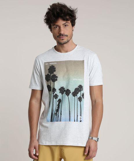 Camiseta-Masculina-Coqueiros--Good-Vibes--Manga-Curta-Gola-Careca-Cinza-Mescla-Claro-9757802-Cinza_Mescla_Claro_1