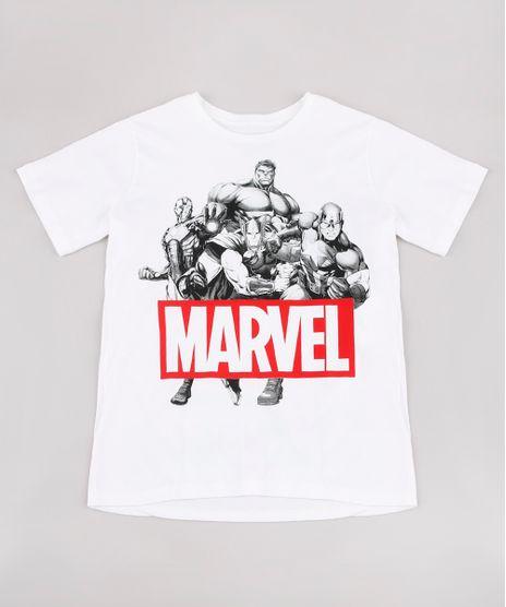 Camiseta-Infantil-Marvel-Os-Vingadores-Manga-Curta-Off-White-9730463-Off_White_1