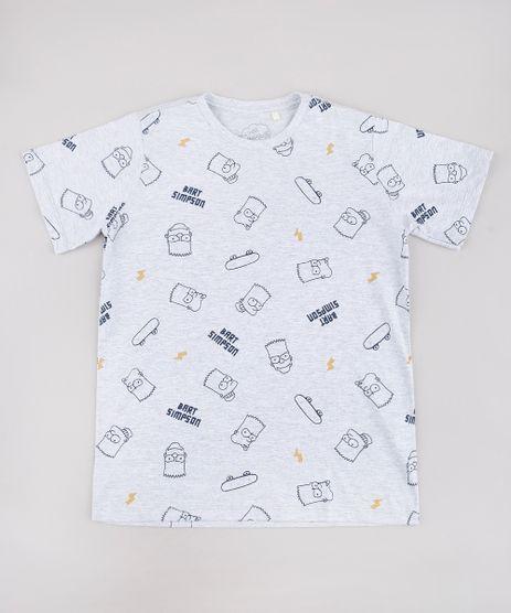 Camiseta-Infantil-Bart-Simpson-Estampada-Manga-Curta-Cinza-Mescla-Claro-9730464-Cinza_Mescla_Claro_1