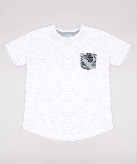 Camiseta-Infantil-com-Bolso-Estampado-de-Folhagem-Manga-Curta-Off-White-9673044-Off_White_1