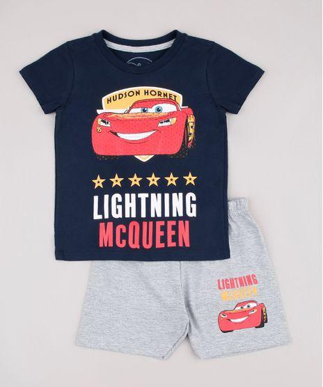 Pijama-Infantil-Relampago-McQueen-Manga-Curta-Azul-Marinho-9632354-Azul_Marinho_1