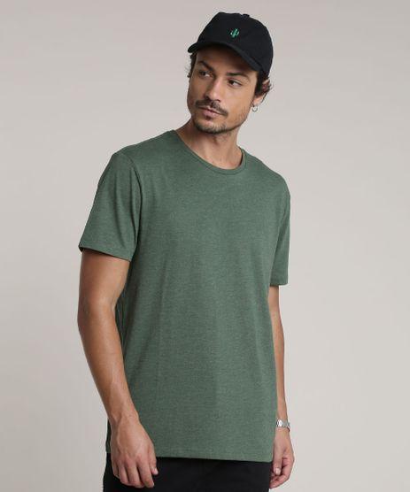 Camiseta-Masculina-Basica-Manga-Curta-Gola-Careca-Verde-9602030-Verde_1