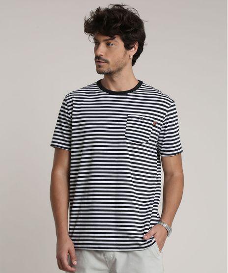 Camiseta-Masculina-Listrada-com-Bolso-Manga-Curta-Gola-Careca-Branca-9756189-Branco_1