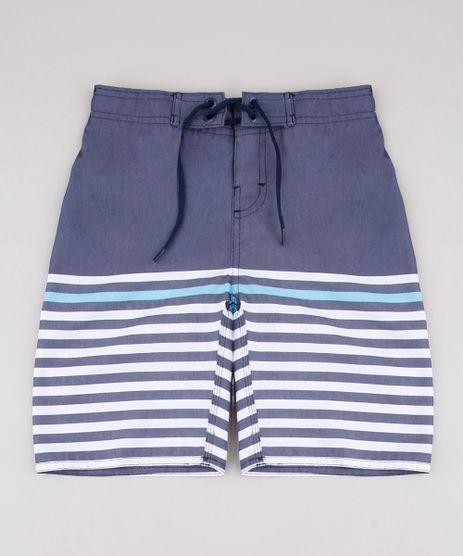 Bermuda-Surf-Infantil-com-Listras-Azul-9728393-Azul_1