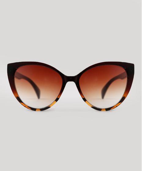 Oculos-de-Sol-Gatinho-Feminino-Yessica-Marrom-9833420-Marrom_1
