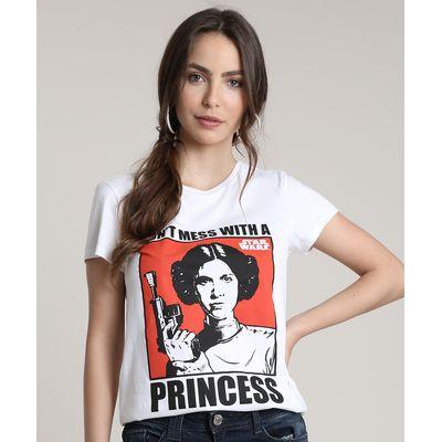 Star Wars Dont Mess with A Princess Girls T-Shirt