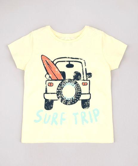 Camiseta-Infantil--Surf-Trip--Manga-Curta-Amarelo-Claro-9761498-Amarelo_Claro_1