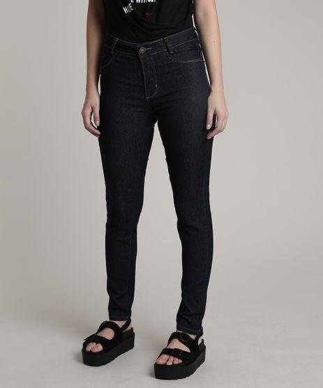 Calca-Jeans-Feminina-Sawary-Cigarrete-Push-Up-Azul-Escuro-9807194-Azul_Escuro_1
