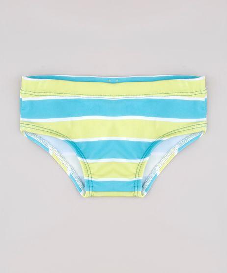 Sunga-Infantil-Slip-Listrada-com-Protecao-UV50--Verde-9743871-Verde_1