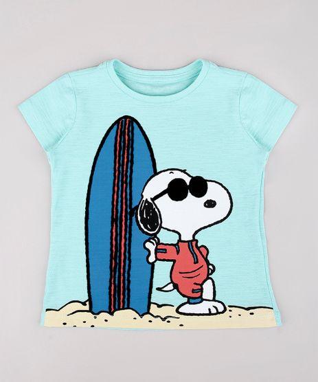 Camiseta-Infantil-Snoopy-Manga-Curta-Verde-Agua-9755821-Verde_Agua_1