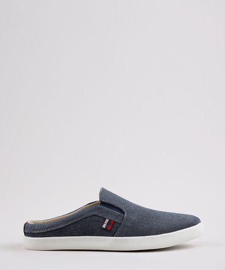 Tenis-Jeans-Mule-Masculino-Oneself-Slip-On-Azul-Medio-9770493-Azul_Medio_1