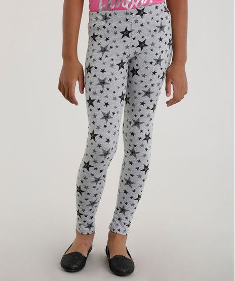 Calca-Legging-Estampada-Barbie-Cinza-Mescla-8554562-Cinza_Mescla_1