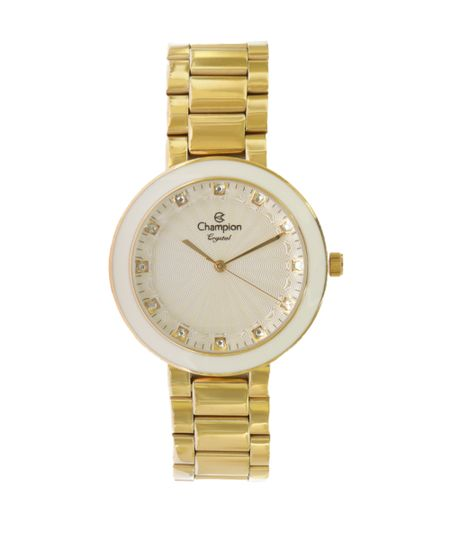 7a847251a7e Relógio Champion Analógico Feminino - CN29972H Dourado - cea