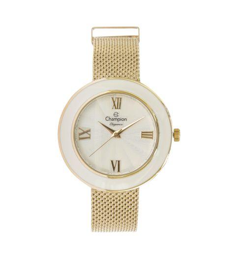 28f7486e6be Relógio Champion Analógico Feminino - CN27385H Dourado - cea