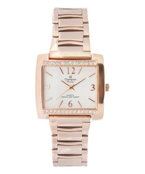730a9363856 Relógio Champion Analógico Feminino - CH25954Z Rosê - cea