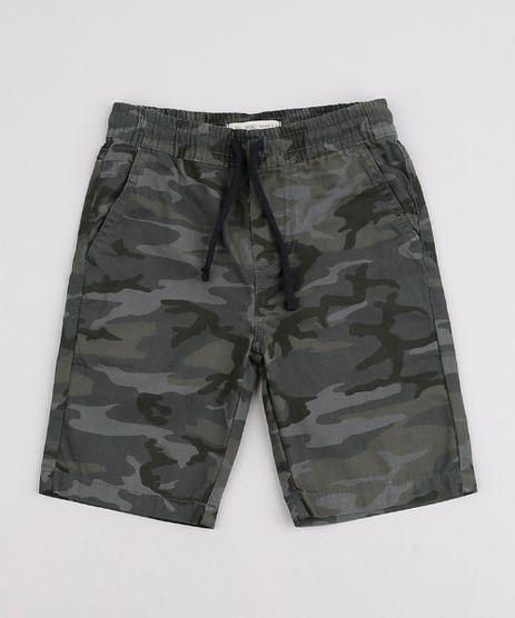 Bermuda-de-Sarja-Infantil-Estampado-Camuflado--Verde-Militar-9761825-Verde_Militar_1
