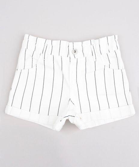 Short-de-Sarja-Infantil-Clochard-Listrado-com-Bolso-Barra-Dobrada--Off-White-9754253-Off_White_1