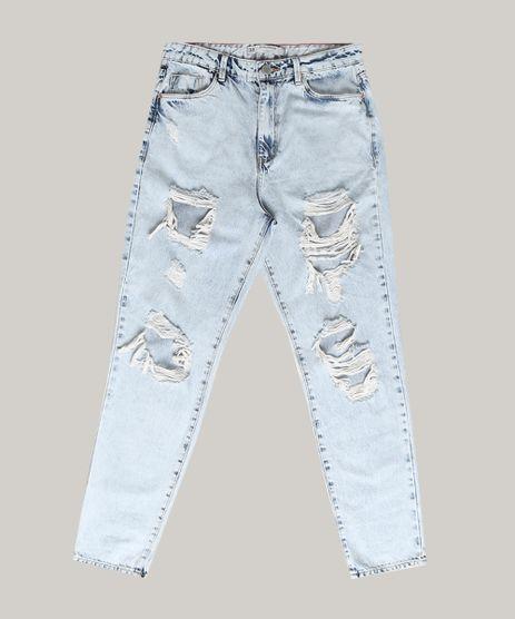 Calca-Jeans-Feminina-Mom-Destroyed-Azul-Claro-9751060-Azul_Claro_1