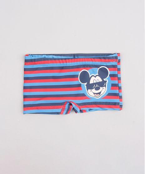 Sunga-Boxer-Infantil-Listrado-Mickey-Azul-9741338-Azul_1