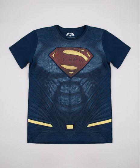 Camiseta-Infantil-Super-Homem-Manga-Curta-Azul-Marinho-9710275-Azul_Marinho_1