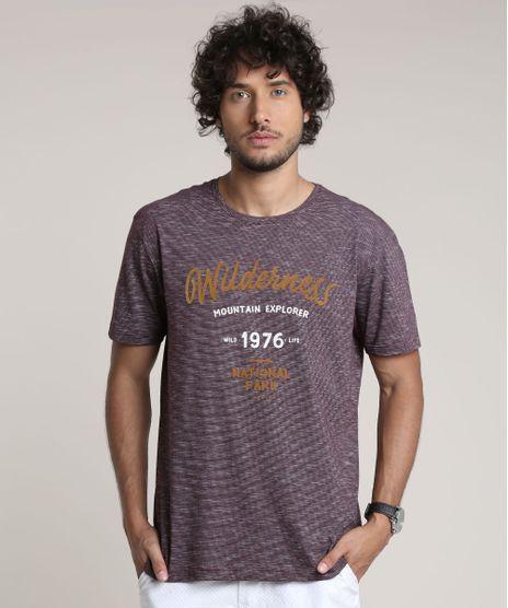 Camiseta-Masculina-Listrada--Wilderness--Manga-Curta-Gola-Careca-Roxa-9612095-Roxo_1