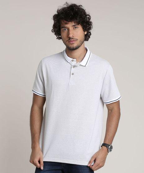 Polo-Masculina-Comfort-Texturizada-Geometrica-Manga-Curta-Off-White-9739138-Off_White_1