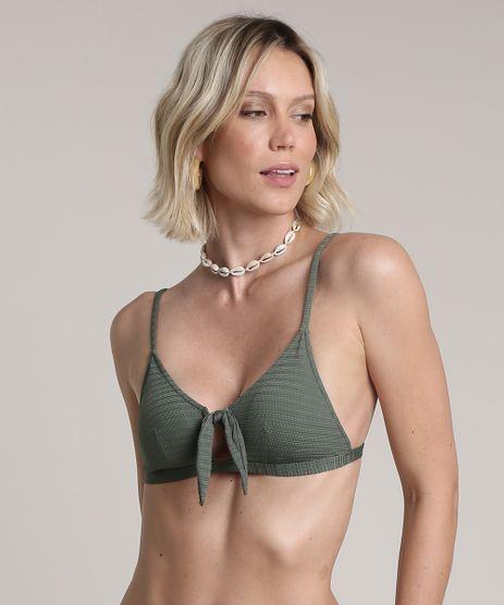 Biquini-Top-Triangulo-Texturizado-com-No-e-Bojo-Removivel-Protecao-UV50--Verde-Militar-9671285-Verde_Militar_1