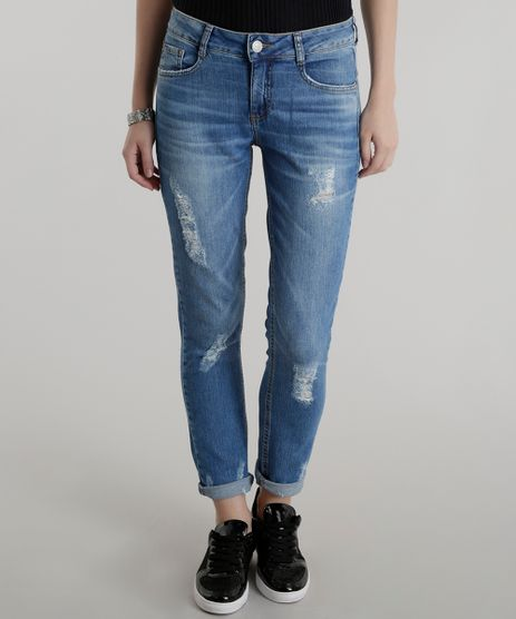 Calca-Jeans-Cigarrete-Azul-Medio-8556811-Azul_Medio_1