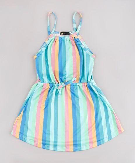 Vestido-Infantil-Blueman-Listrado-Alcas-Finas-Verde-Agua-9777132-Verde_Agua_1