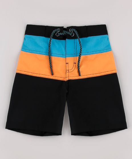 Bermuda-Surf-Infantil-Blueman-Color-Block-com-Bolso-Preta-9702855-Preto_1