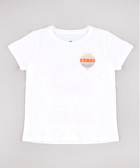 Camiseta-Infantil-Blueman--Kite--Manga-Curta-Off-White-9795914-Off_White_1