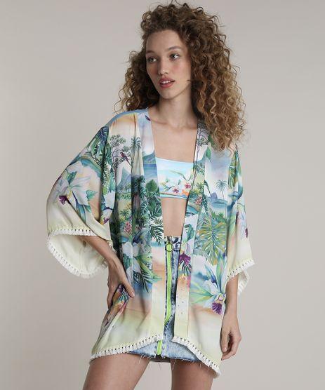 Kimono-Feminino-Blueman-Estampado-Paraiso-com-Tassel-Amarelo-Claro-9679066-Amarelo_Claro_1