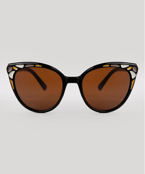 Oculos-de-Sol-Redondo-Feminino-Yessica-Preto-9836147-Preto_1