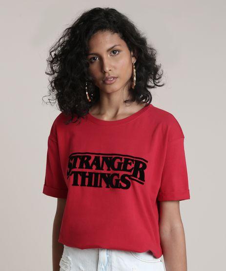 Blusa-Feminina-Stranger-Things-Manga-Curta-Decote-Redondo-Vermelho-9716463-Vermelho_1