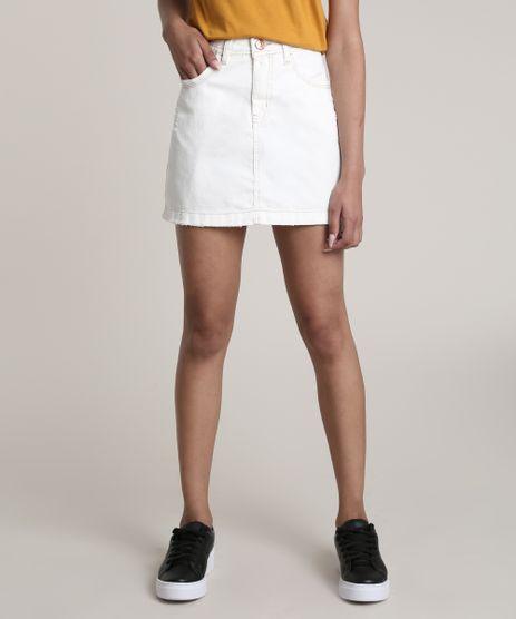 Saia-de-Sarja-Feminina-Curta-com-Rasgos-Off-White-9757784-Off_White_1