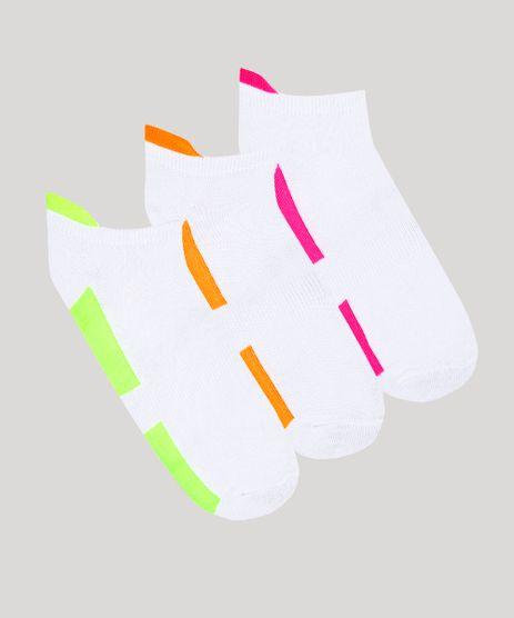 Kit-de-3-Meias-Femininas-Cano-Baixo-Ace-Neon-Branco-9798905-Branco_1