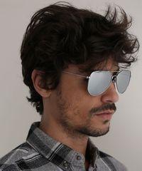 Oculos-de-Sol-Aviador-Unissex-Ace-Prateado-9721197-Prateado_2