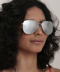 Oculos-de-Sol-Aviador-Unissex-Ace-Prateado-9721197-Prateado_3