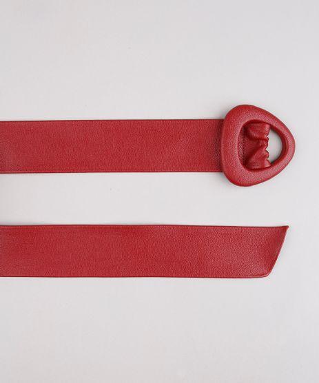Cinto-Feminino-com-Fivela-Triangular-Vermelho-9641782-Vermelho_1