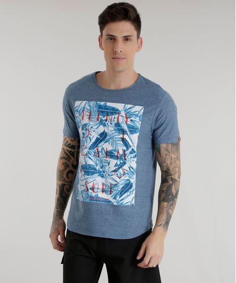 Camiseta--Plenty-Of-Calm-To-Surf--Azul-8575048-Azul_1